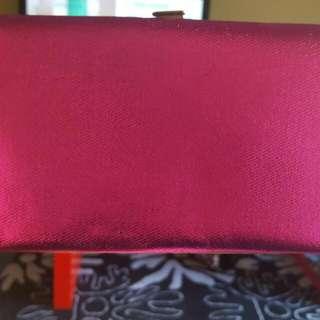 Bright Pink Clutche
