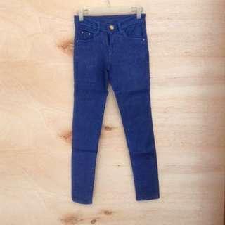 Navy Semi Jeans