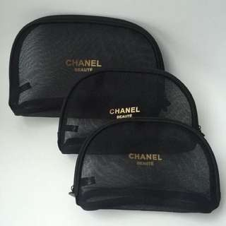 Chanel Beaute Cosmetic Pouch
