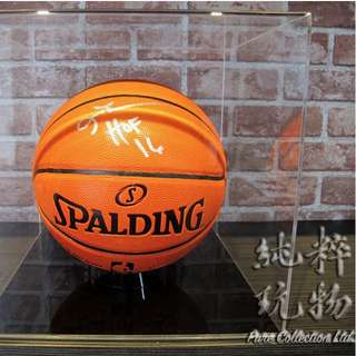 ☆Pure Collection☆ NBA Allen Iverson HOF16 親簽籃球 (附證書+展示架)