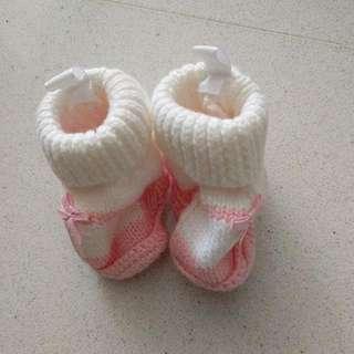 Carter's Newborn Crocheted Booties