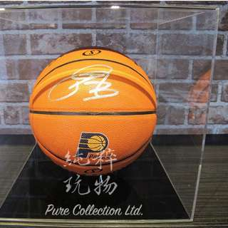 ☆Pure Collection☆ NBA 溜馬一哥 Paul George 親簽籃球 (附證書+展示架)