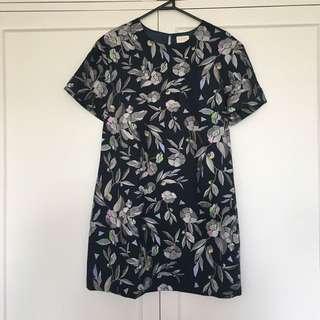 Miranda Skozek Embroidered Gorman Dress