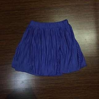 ZARA Blue Skirt