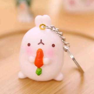 Baby Molang Keychain
