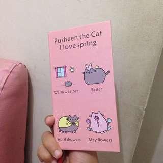 Cute Pusheen The Cat Notebook