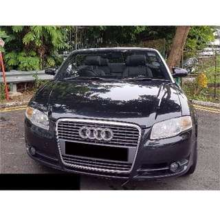 (PROMO) A4 Cabriolet 1.8T For Rental