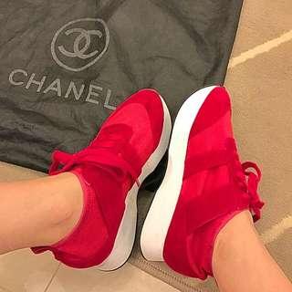 日本購回 襪套質感 小紅鞋