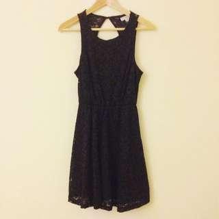 Cotton On Black Lace Dress