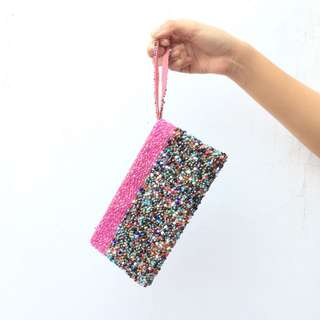 Colorful Beads Wallet