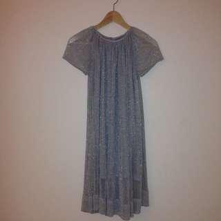 ONEREDFLY Silver Dress