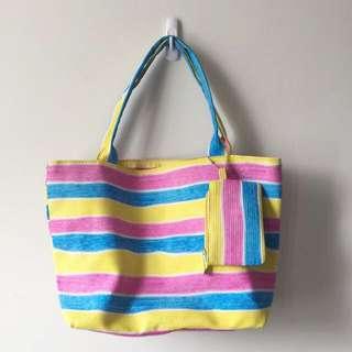MANEA 1+2 Classic Rainbow Bag