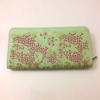 Miss Shop Mint Green Purse