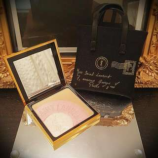 Authentic YSL Y-MAIL PALETTE  Face Highlighter Compact Powder (Limited Collectors Item. )