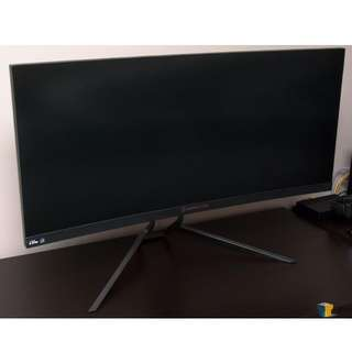 Acer Predator X34 Curved IPS NVIDIA G-sync Gaming Monitor 21:9 WQHD Display (Mint Condition)