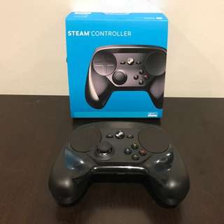 Steam Controller Model # 1001 For Use With PC, Mac, Seam Games