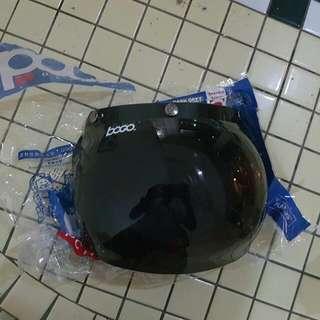 Brand New Bogo Black Bubble Visor