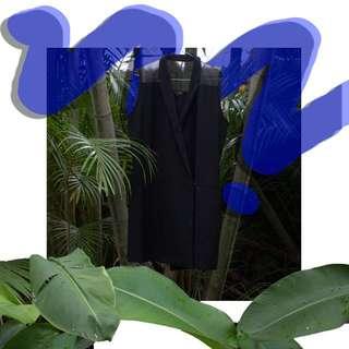 Black Mesh Vest Dress