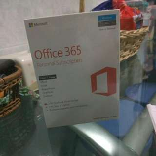 Office 365 2016 Personal Subscription
