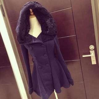 超美洋裝外套灰色