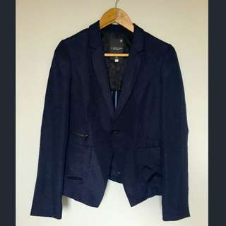 G-STAR Raw Navy Blue Blazer