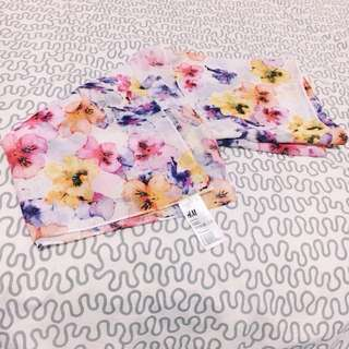 Hnm Floral Scarf