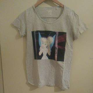 Uniqlo Tinkerbell Shirt