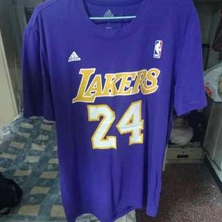 Kobe 紫色棉T
