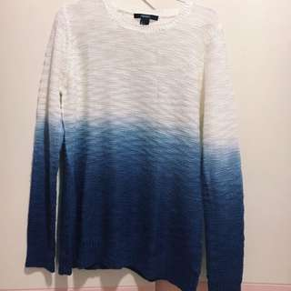 FOREVER 21 OMBRE SWEATER