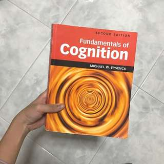 pl3233: fundamentals of cognition (2nd edition)