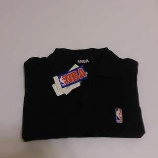 NBA黑色Polo衫