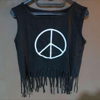 Peace Crop Top