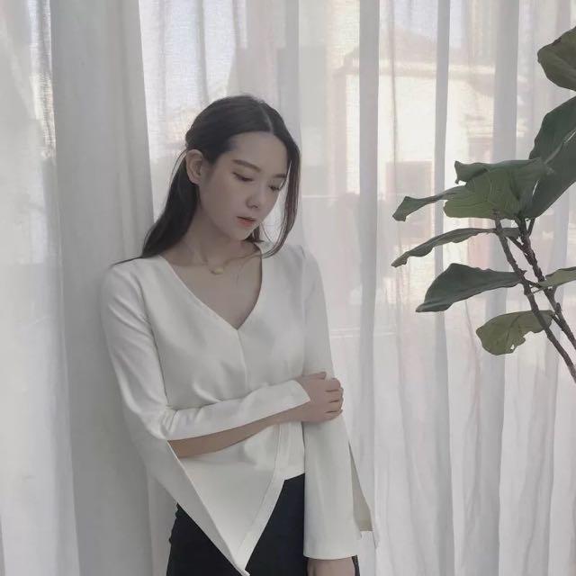 寬袖韓國上衣