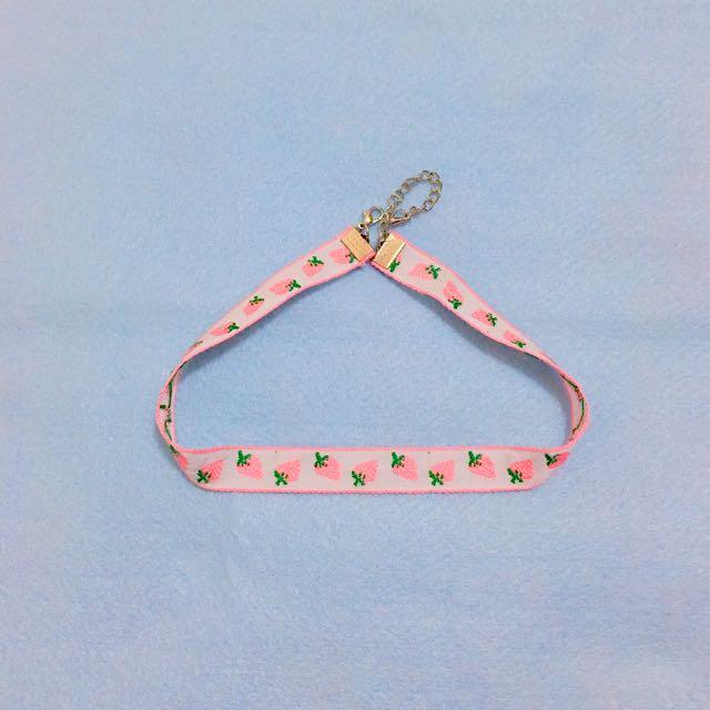 🍓 日系草莓頸鍊 🍓