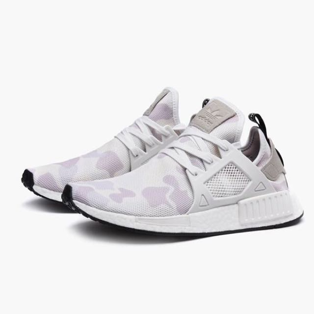 buy online 0ac4d 318d3 Authentic Adidas NMD XR1 Duck Camo in White, Men's Fashion ...