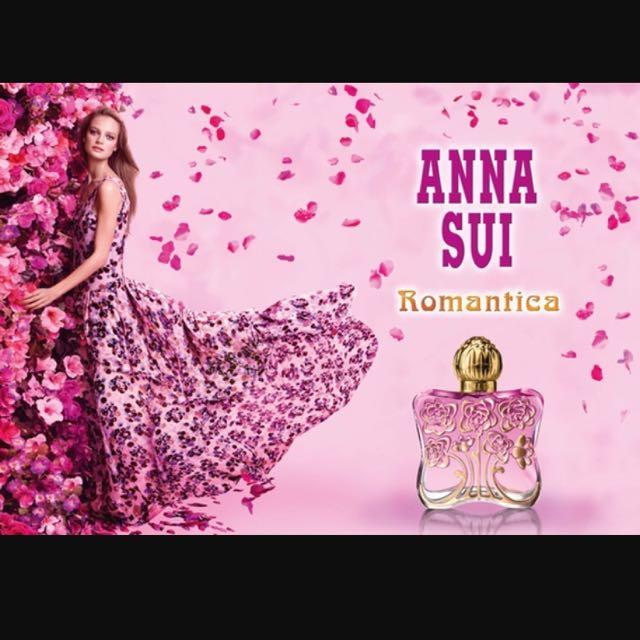 ANNA SUI 安娜蘇 安娜花園淡香水 Romantica 5ml 分裝香水 針管 試管 小香水
