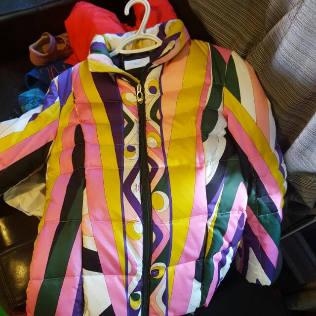 Authentic Emilio Pucci Puffer Jacket