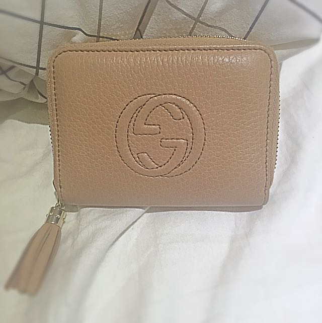 AUTHENTIC GUCCI disco wallet