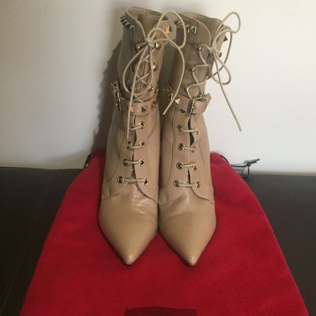 Authentic Valentino Rockstud Boots