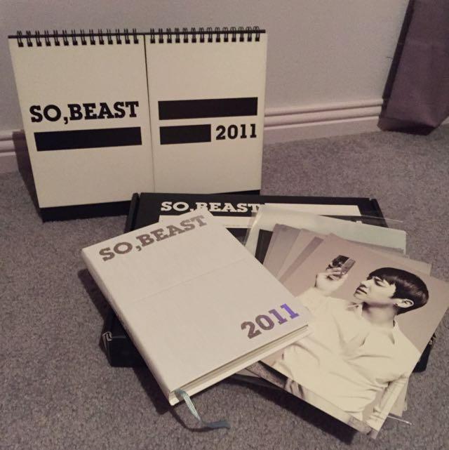 BEAST/B2ST SEASON GREETING SET