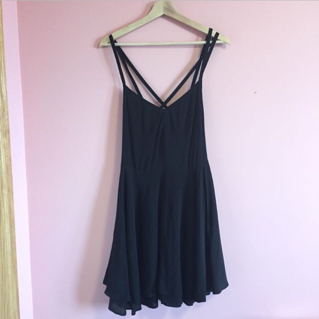 Black Kimchi Blue Mini Dress