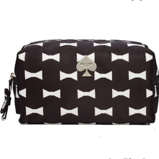 online store 85302 39f23 [BNIB] Kate Spade Makeup/ Cosmetic Pouch