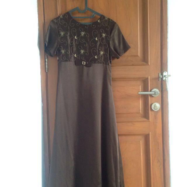 Brown Long Dress