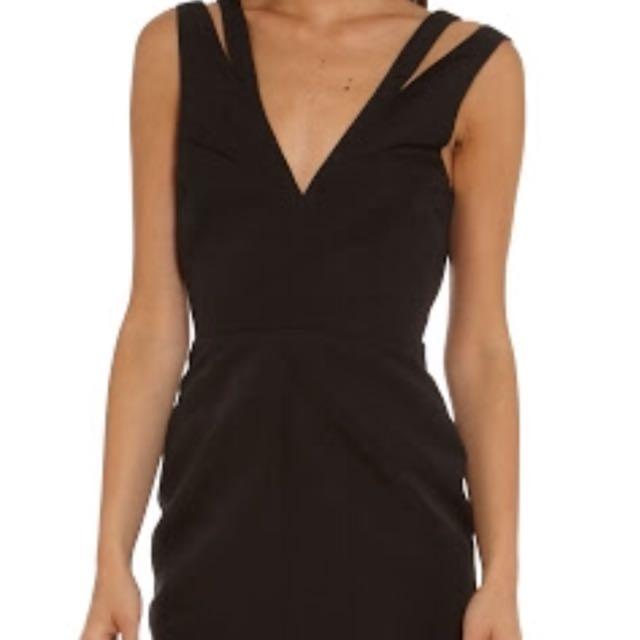 Camilla & Marc Black Mini Dress