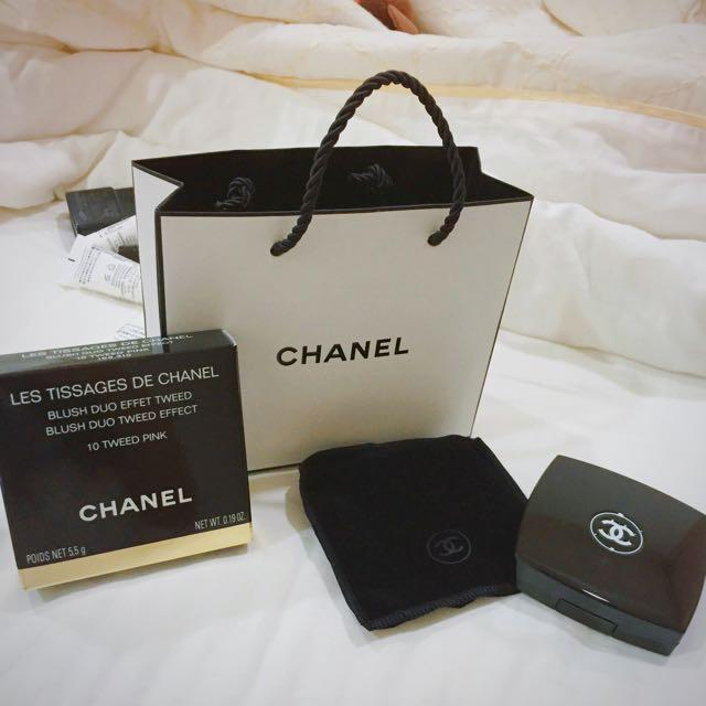 Chanel香奈兒 全新✨珠光腮紅 10號色