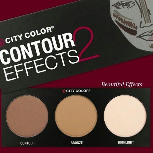 City Colour Contour Palette