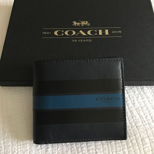 Coach Men Wallet with coin compament