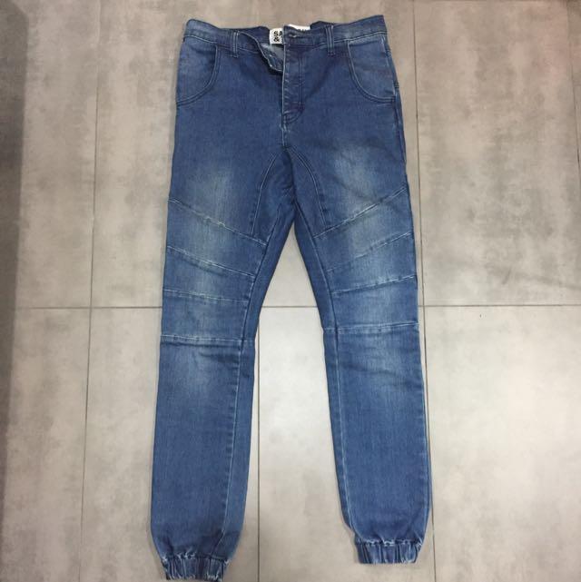 Denim Jeans (cuffed)