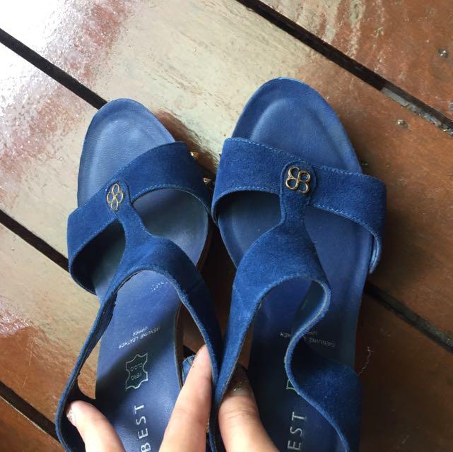 ❤️ EVERBEST Blue Heels