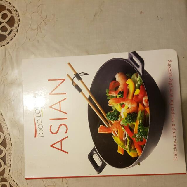 Excellent  Condition.  All Asian Receipes